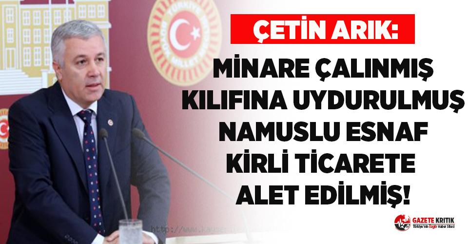 CHP'li Arık belediyenin zarara uğratıldığı iddialarına tepki gösterdi!