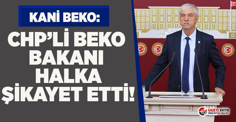 CHP'li Beko iki işçinin intiharını sordu,...