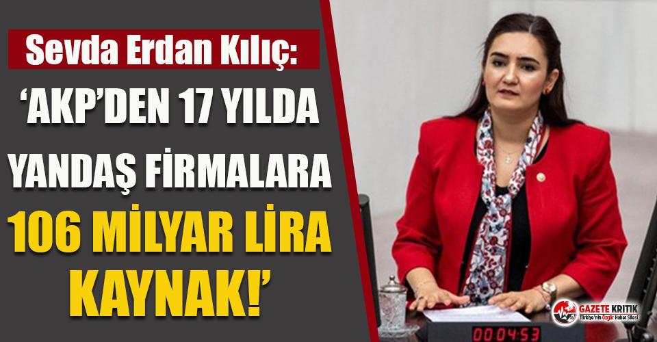 """CHP'li Kılıç: """"AKP'den 17 yılda yandaş..."""