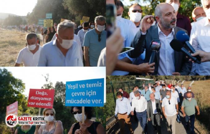 CHP'li Öztunç Eylem Yaptı, Sonuç Aldı!