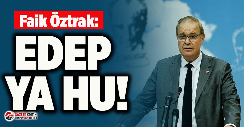 CHP Sözcüsü Öztrak'tan Muharrem İnce'nin Mavi Vatan çıkışına tepki!
