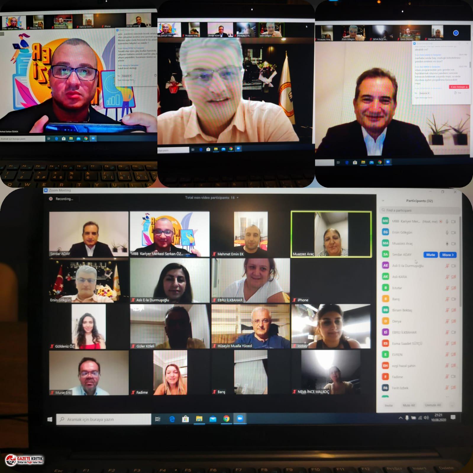 'Dijital Liderler Mersin'de Projesi' sürüyor