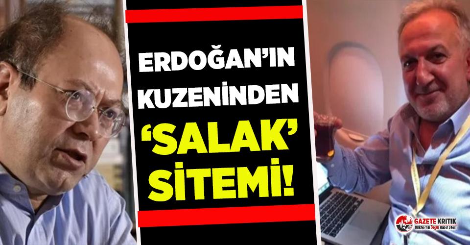 Erdoğan'ın kuzeninden Yusuf Kaplan'a 'salak' sitemi!