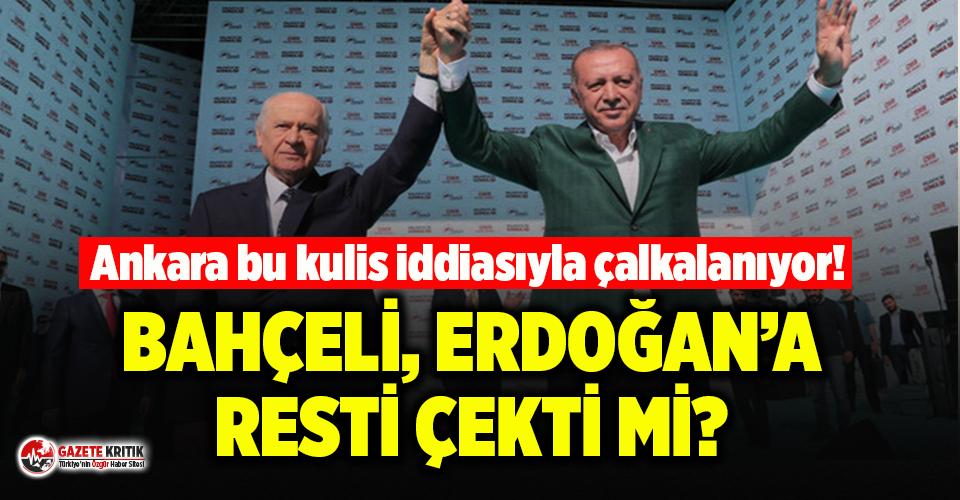 'Evine dön'çağrısının ardından sular durulmuyor! Bahçeli, Erdoğan'a rest mi çekti ?
