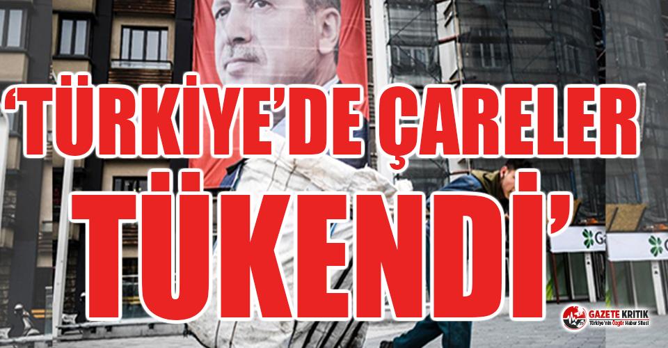 Financial Times'tan Türkiye ekonomisi yorumu: Türkiye'de çareler tükendi
