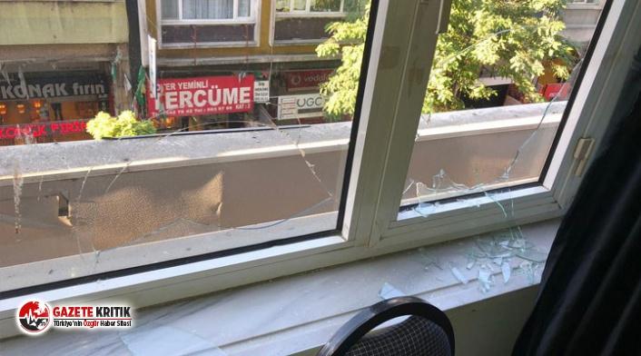 HDP'nin ilçe binasına saldırı: 1 kişi gözaltına alındı!