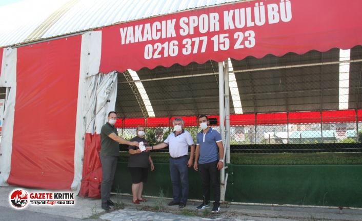 Kartal Belediyesi'nden İlçedeki Tüm Spor Kulüplerine Kızılötesi Termometre
