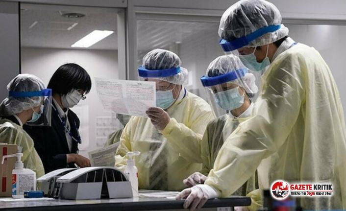 Koronavirüsle mücadele eden sağlık çalışanları...