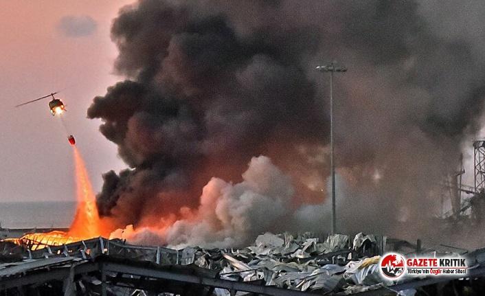 Lübnan'ın başkenti Beyrut'ta patlama: 50 ölü, 2 bin 700 yaralı