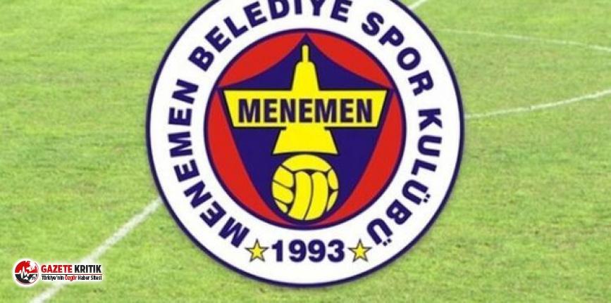 Menemenspor'da 10 kişinin Covid-19 testi pozitif çıktı
