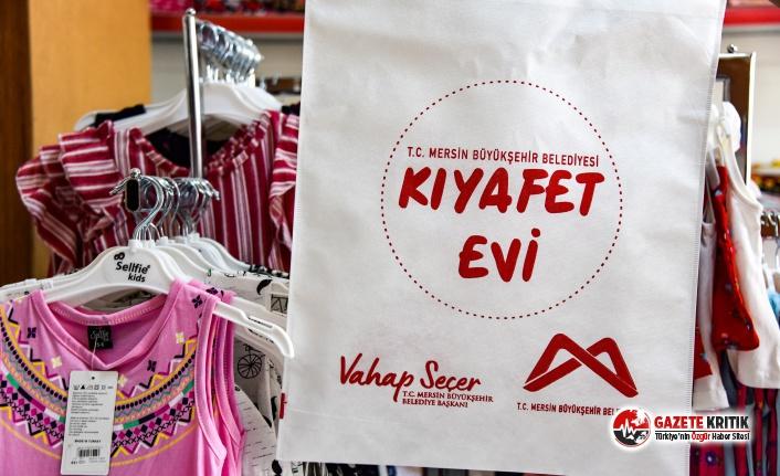 Mersin Büyükşehir Belediyesi, Kıyafet Evi'ni...