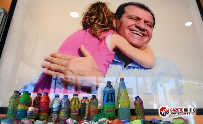 Mersin Büyükşehir'den Çocuklara 'Taş Boyama Atölyesi''