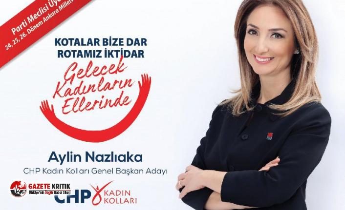 O belediye başkanıda Aylin Nazlıaka'ya destek...
