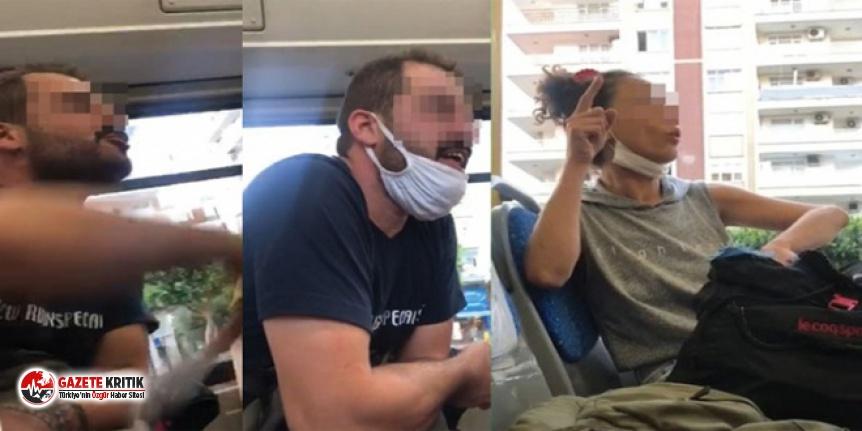 Otobüste maske kavgası: 'Bu mu seni kurtaracak'...