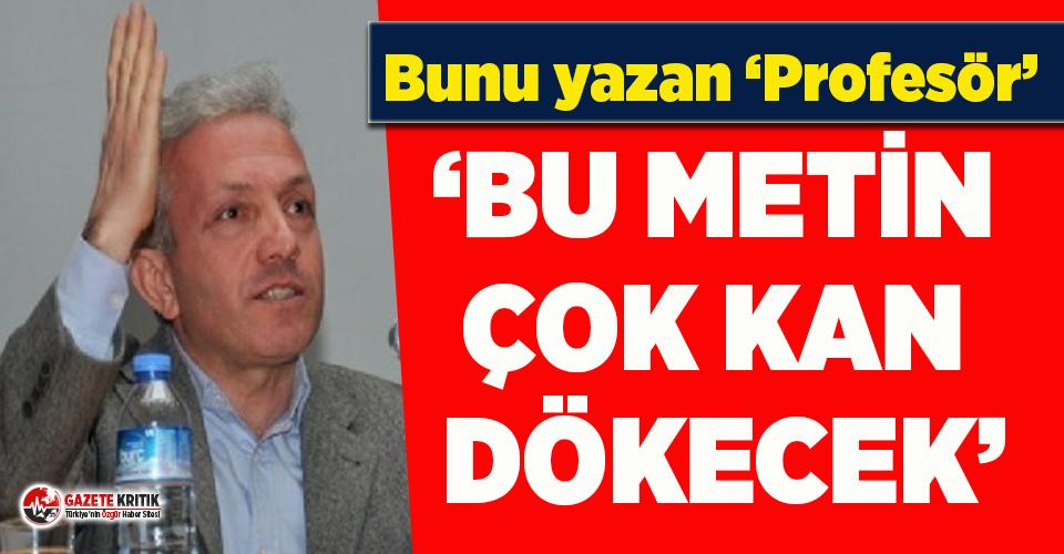 'Profesör'den skandal İstanbul Sözleşmesi...