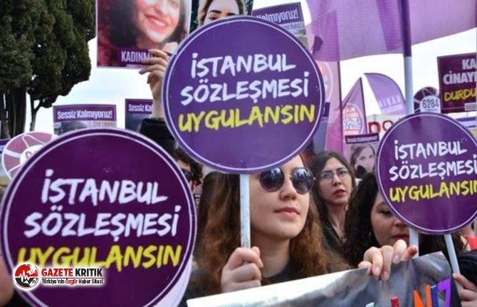 """Sivil toplum kuruluşundan ortak açıklama: """"İstanbul Sözleşmesi Yaşatır"""""""