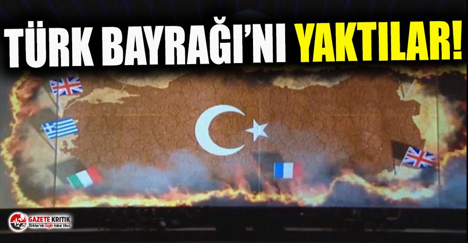 TRT'de tepki çeken skandal görüntü!