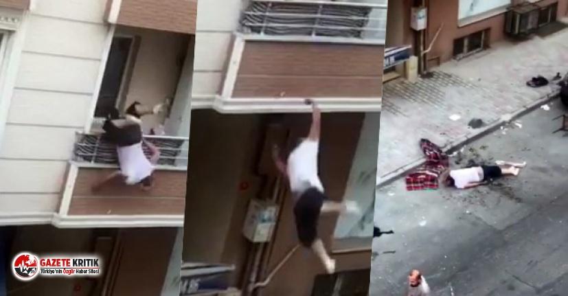 Türkiye bu olayı konuşuyor! Balkondan tartıştığı kişiye tencere atarken aşağıya düştü