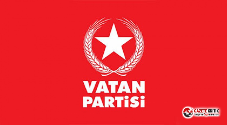 Vatan Partisi'nde flaş istifa