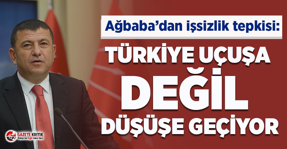 Veli Ağbaba: Hem istihdamı düşürüp hem işsizliği azaltan tek ülke Türkiye