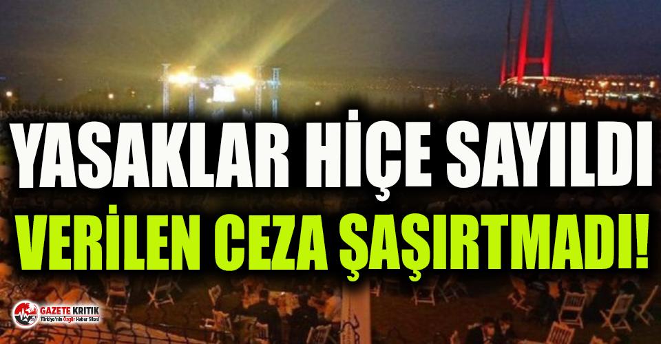 1500 kişilik düğün yapan AKP Milletvekili Cemil...
