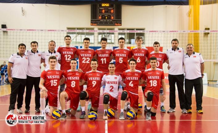 20 Yaş Altı Erkek Milli Voleybol Takımı, Avrupa...