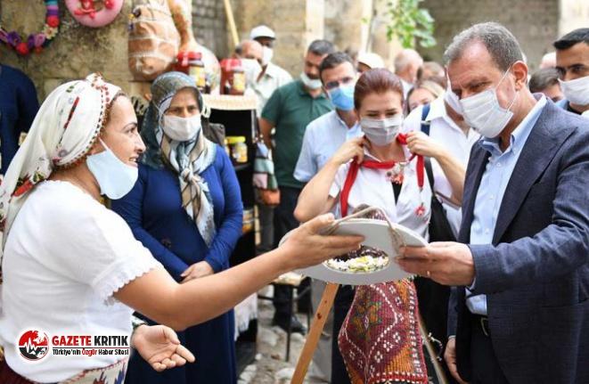 300 Yıllık Tarihi Taşhan, Kadın Üretici Pazarı Oldu