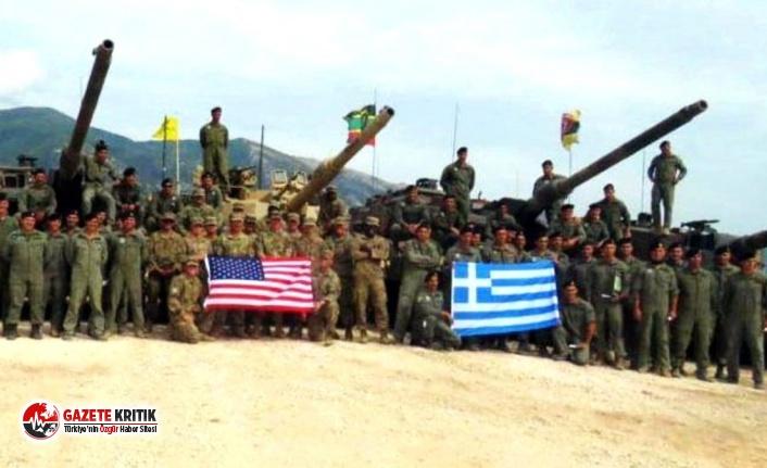 ABD ve Yunanistan, Türkiye sınırında tatbikat...