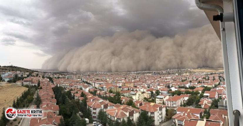 AFAD 6 maddelik rehber yayımladı: İşte kum fırtınası...