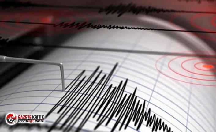 Akdeniz'de 5.7 büyüklüğünde deprem!