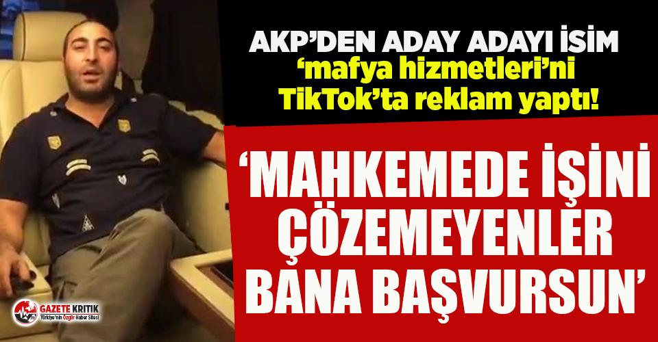 AKP'den aday adayı olan Kejanlı verdiği 'mafya...