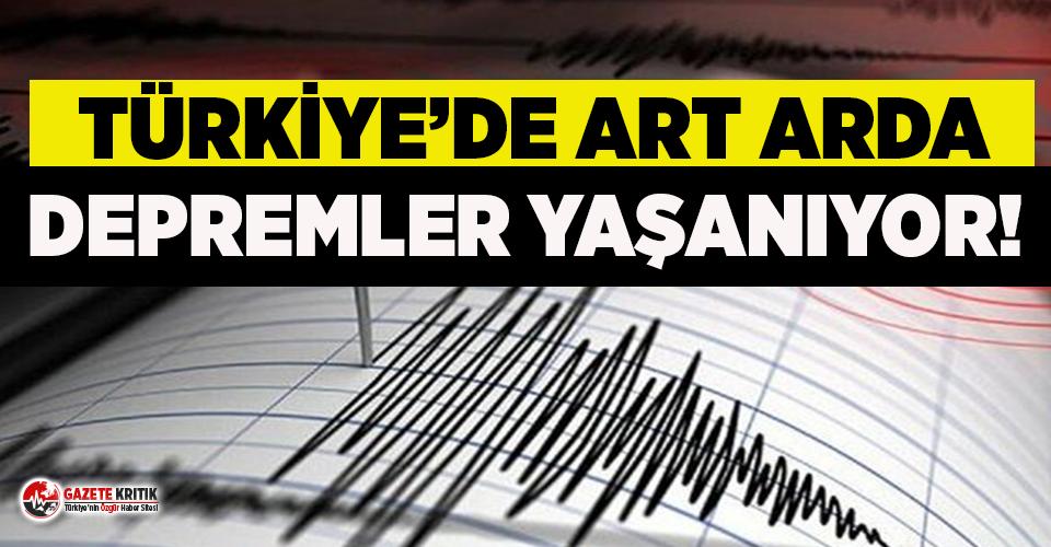 Aksaray'da 3.9 büyüklüğünde deprem!