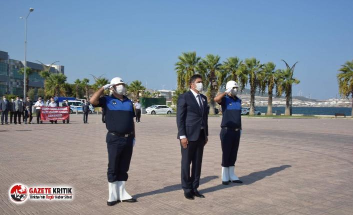 Aliağa'da Gaziler Günü Kutlandı