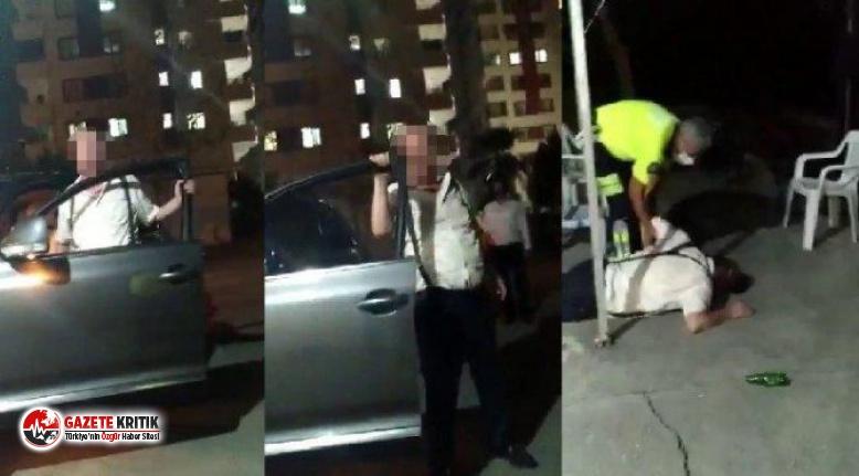 Alkollü hakim polislere saldırdı!
