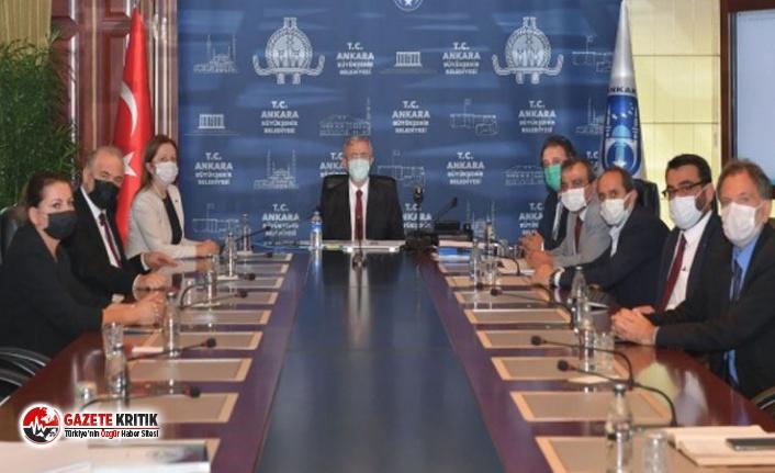 Ankara Gar Katliamı için hazırlanan projeler Mansur Yavaş'a sunuldu