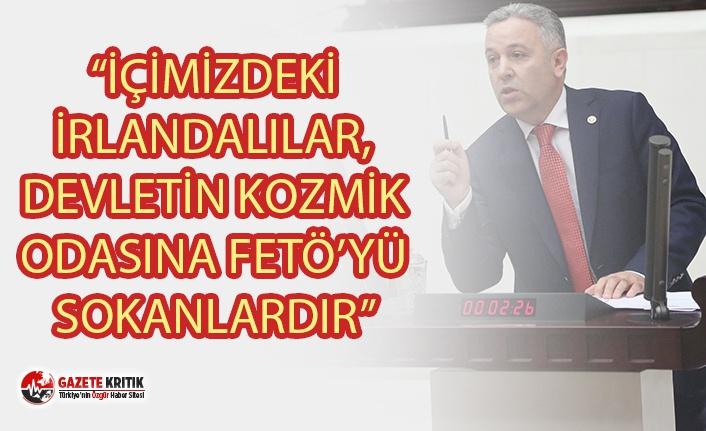 """ARIK'TAN AKP'Lİ MİLLETVEKİLİ ÖZHASEKİ'YE YANIT: """"İÇİMİZDEKİ İRLANDALILAR, DEVLETİN KOZMİK ODASINA FETÖ'YÜ SOKANLARDIR"""""""
