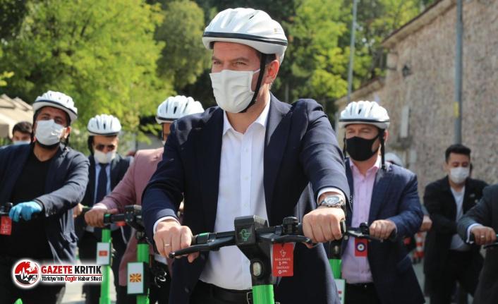 Avrupa Hareketlilik Haftası'nda 'Sıfır Emisyon'lu...