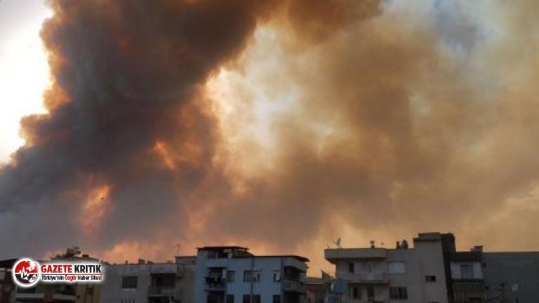 Aydın'da büyük yangın: Tahliye edilen evlerin...
