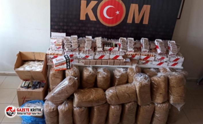 Aydın'da 'kaçak tütün' operasyonu! 2 şüpheli gözaltına alındı