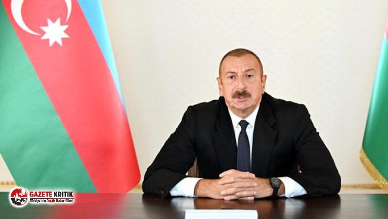 Azerbaycan Cumhurbaşkanı Aliyev çatışmanın durması için tek şartını açıkladı