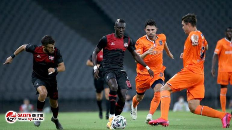 Başakşehir, Fatih Karagümrük'e 2-0 yenildi
