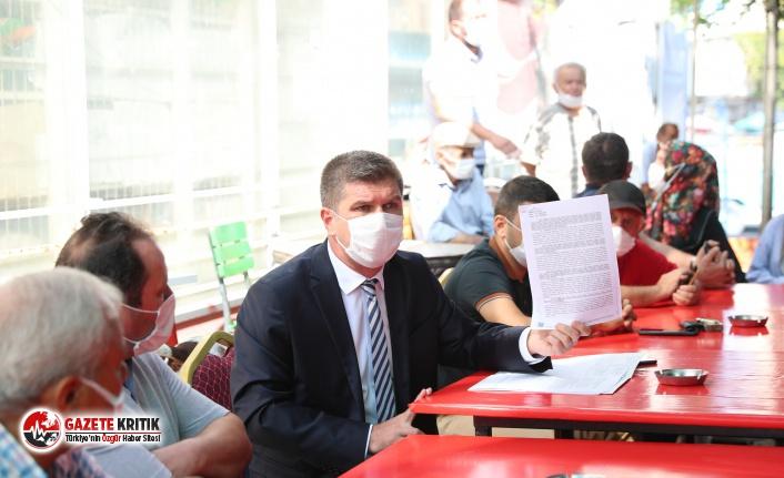 Başkan Ercengiz, Aşağı Pazar esnafları ile bir araya geldi