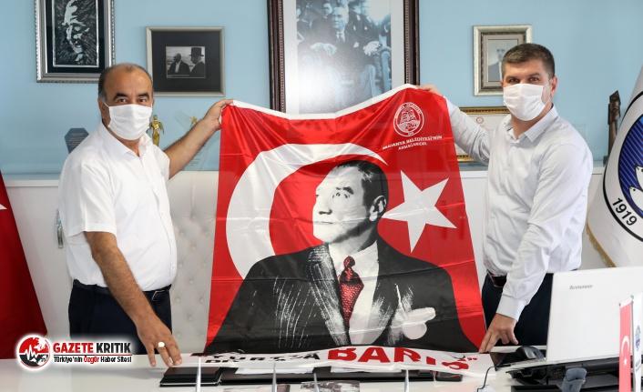 Başkan Ercengiz'den Mudanya Belediyesine ziyaret