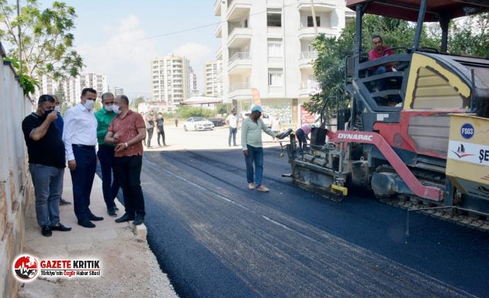 """Başkan Özyiğit, """"Akkent'te artık su baskınları yaşanmayacak"""""""