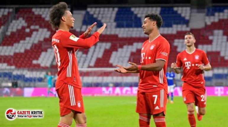 Bayern Münih, evinde Schalke 04'ü 8-0 mağlup...