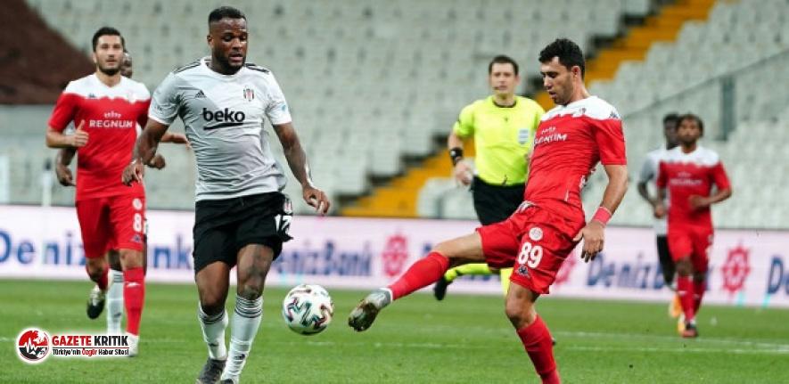 Beşiktaş – Antalyaspor maçı berabere bitti