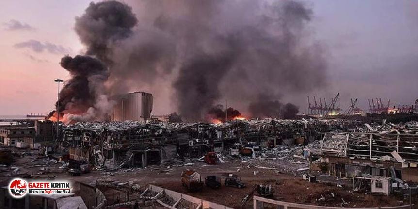 Beyrut Limanı'nda patlayıcı madde yüklü 143...