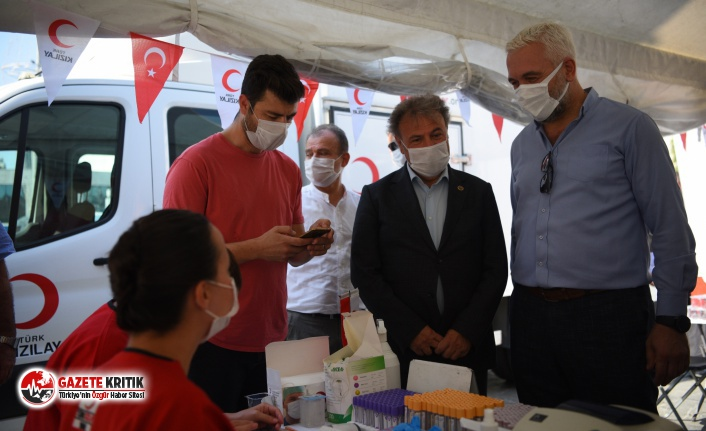 "Bornova'da ""Kan Dostluğu"""