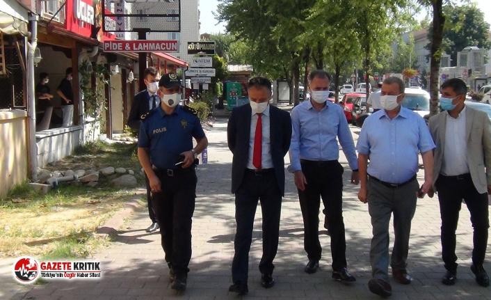 Bursa'da emniyet müdüründen 4 polise maske...