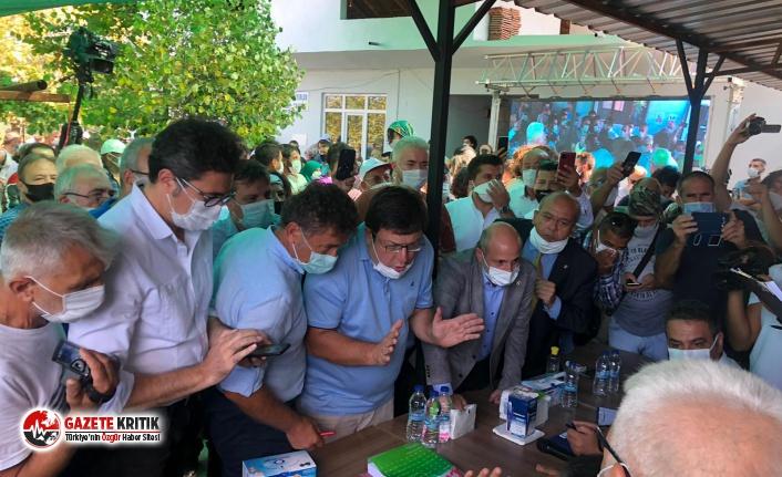 Cengiz Holding'e inşaat ruhsatı verilen toplantı...